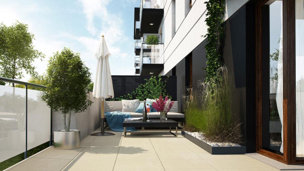 Wybrane apartamenty z dwoma tarasami