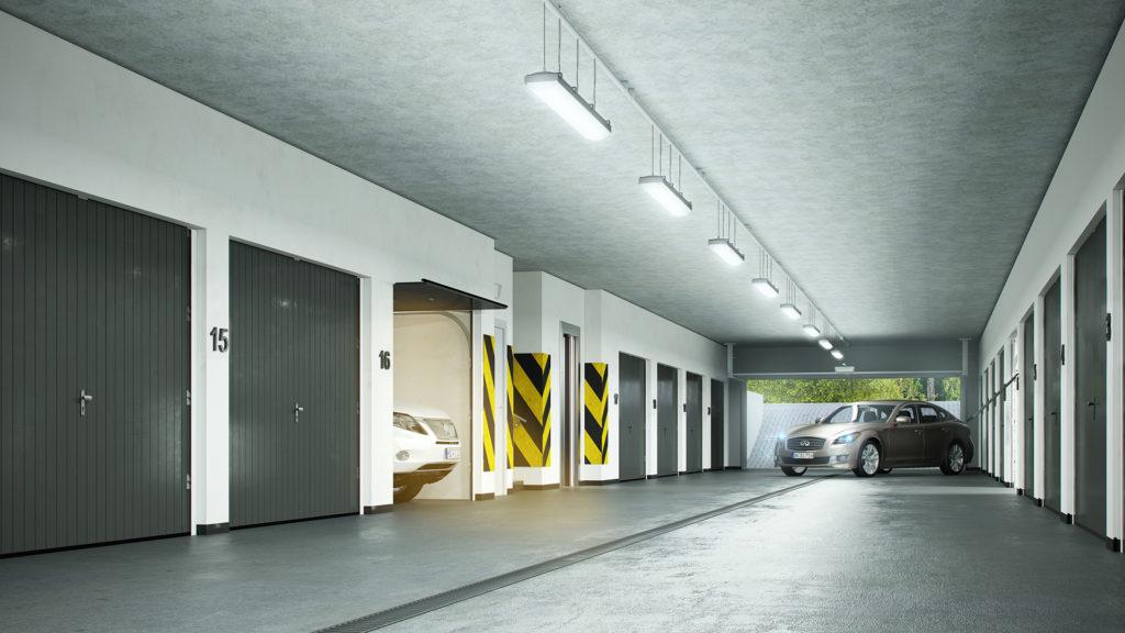 Indywidualne garaże w hali